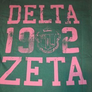 COPY - Delta Zeta Comfort Colors Tee Shirt - Bran…